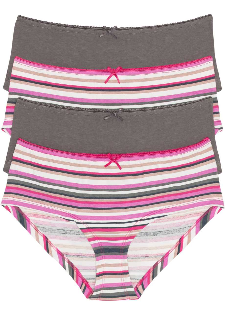 36//38 Damen Baumwoll Hipster Panty 2er Pack Cotton Made in Africa 44//46 40//42