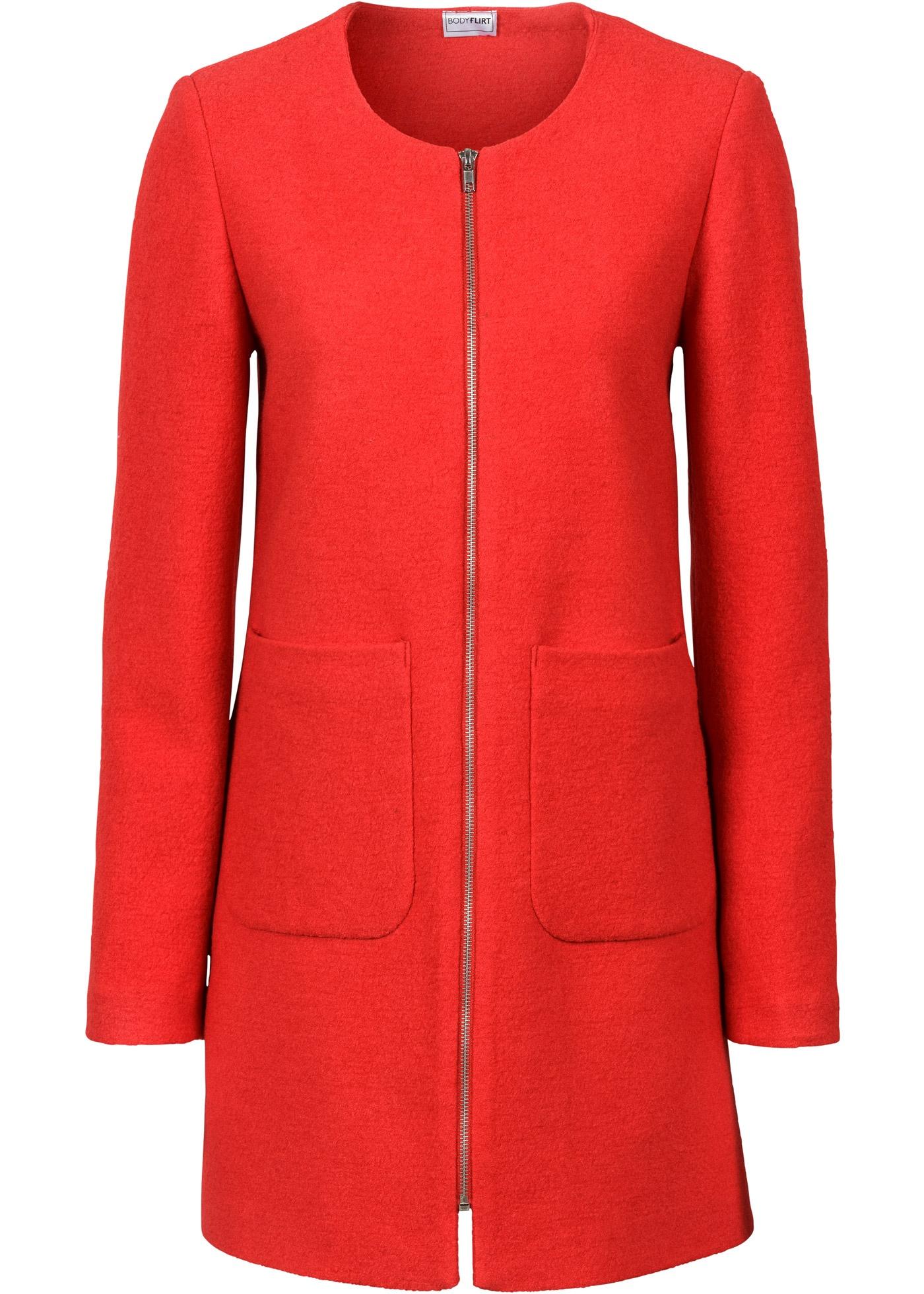 mantel ohne kragen gr 46 erdbeere damenmantel coat parka. Black Bedroom Furniture Sets. Home Design Ideas