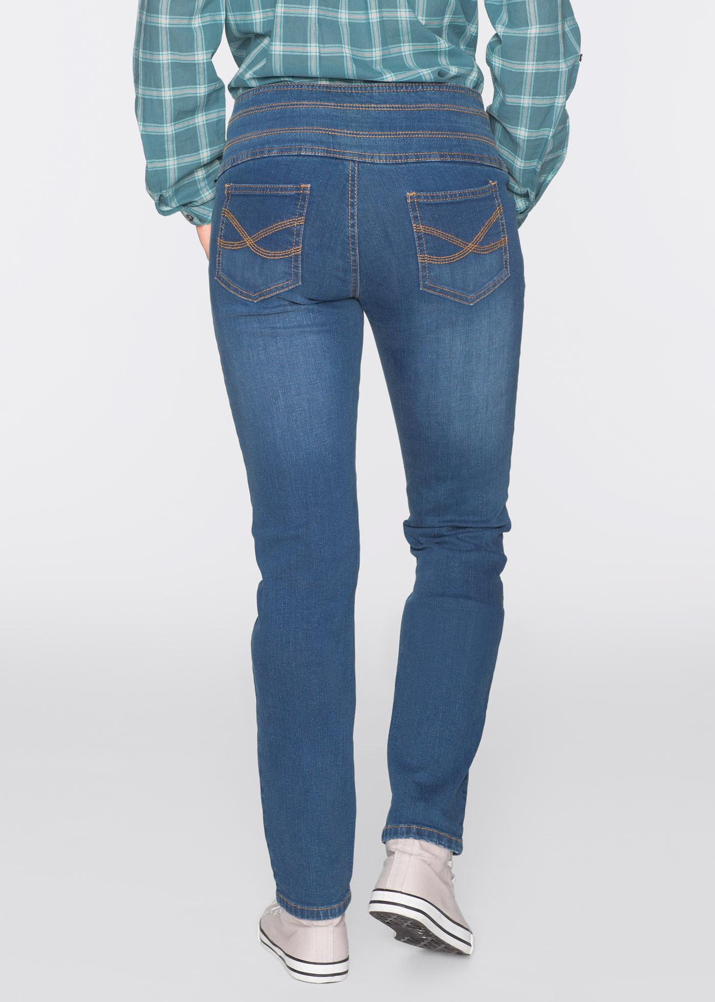 stretch jeans bauch weg r hre gr 44 schwarz damen hose. Black Bedroom Furniture Sets. Home Design Ideas